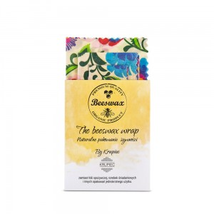 The beeswax wrap. Bienenwachstuch